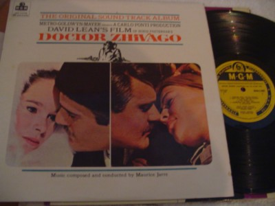 DOCTOR ZHIVAGO - MGM UK MONO { 293